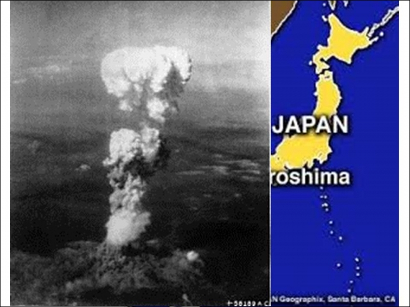 Quelle ville a reçu la première bombe atomique le 6 août 1945 ?