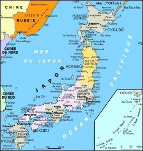De combien d'îles, l'archipel du Japon est-il composé ?