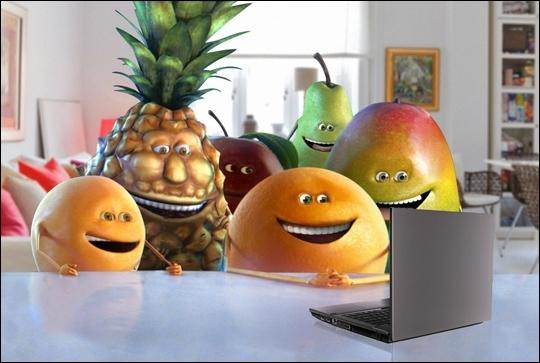 Pour quelle marque de boisson ces 6 fruits nous font-ils rire ?
