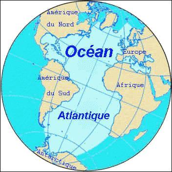 L'océan Atlantique, situé entre le continent américain et l'Afro-Eurasie, est le deuxième plus grand océan après le Pacifique. A quelle figure mythologique cet océan fait référence ?