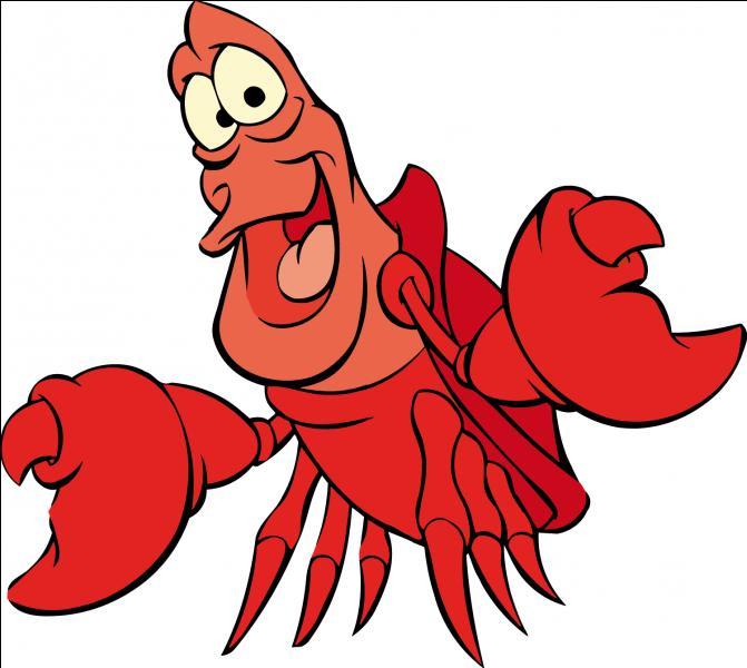 Dans quel dessin animé apparaît ce crabe ?