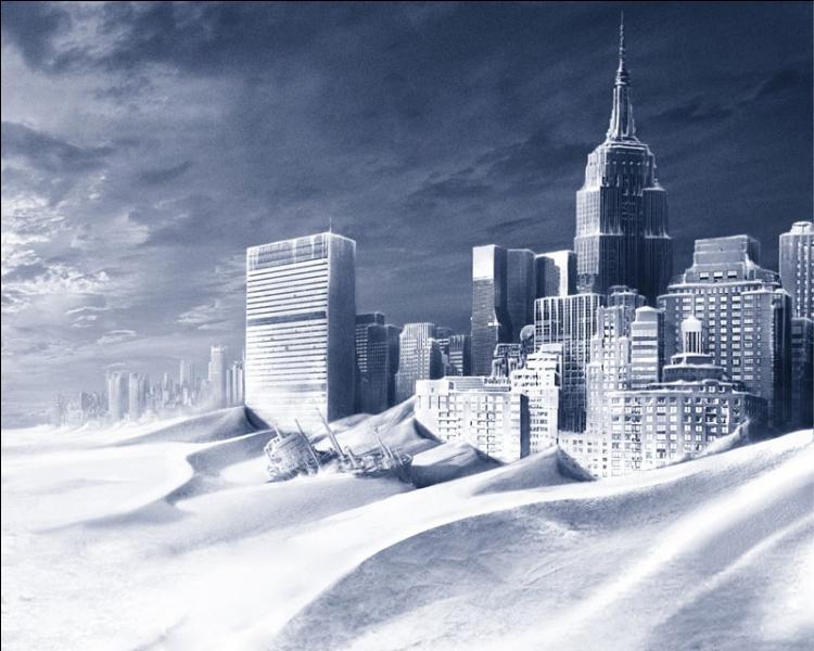 Paléoclimatologie, Antarctique, bibliothèque municipale de New York, Dennis Quaid.