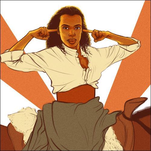 Quelle langue Broomhilda, la femme de Django, parle t-elle couramment ?
