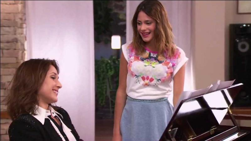 Qui sera le nouveau professeur de piano de Violetta ?