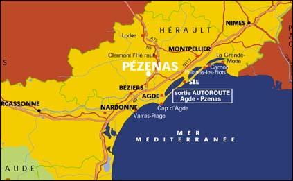 Ville natale de Boby Lapointe, Pézenas est une petite commune de l'Hérault. Comment sont appelés ses habitants ?