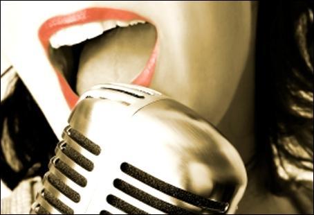 Comment dit-on  chanter  en anglais ?