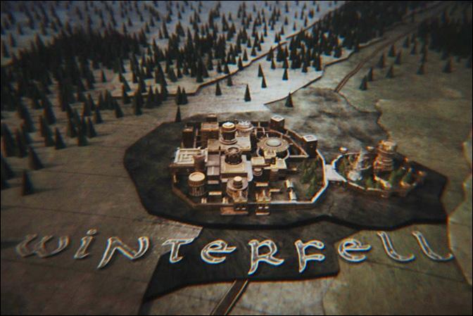 Quelle maison siège sur la place-forte de Winterfell ?