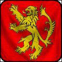 Par rapport à Vivesaigues, capitale des Conflans, où se situe Castral Roc, capitale des Terres de l'Ouest ?