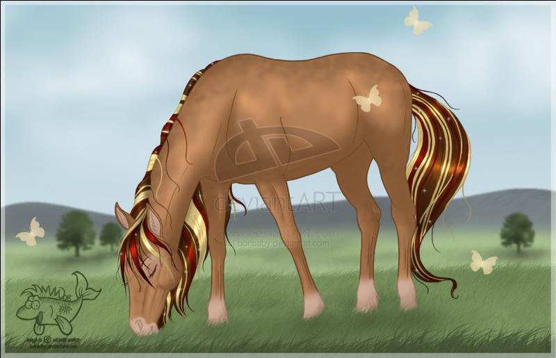 Un cheval hongre, c'est :
