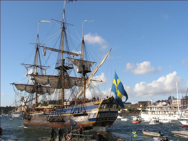 Le plus beau de tous est pour moi le Götheborg : une réplique d'un navire ayant coulé au large de Göteborg en 1745. Où se trouve ce port ?