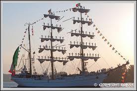 Fin du quiz avec tous les matelots dans la mâture du magnifique trois-mâts mexicain le Cuauhtémoc. Il porte le nom...