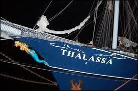 Le trois-mâts Thalassa doit son nom à un mot grec qui signifie...