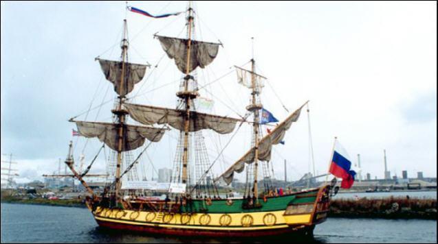 Le port d'attache du Shtandart est Saint-Pétersbourg. Sur quel fleuve se trouve cette ville ?