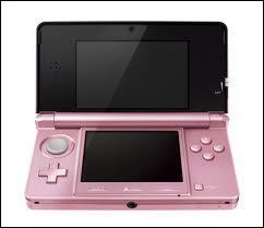 Quelle est la marque de cette DS, où l'on peut jouer à plusieurs sortes de jeux ?