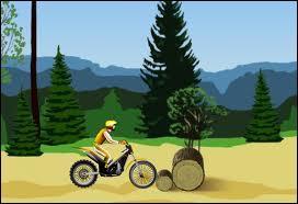 Si vous voulez jouer à un jeu de moto vous allez taper :