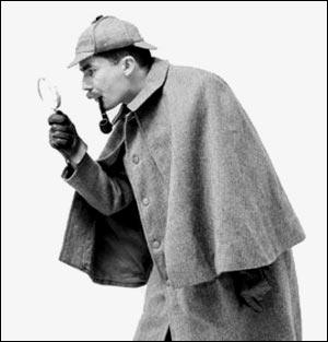 Who created the character of Sherlock Holmes ?
