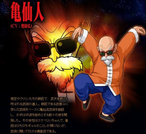 Dans un de vos mangas préférés : Dragon Ball, comment s'appelle le vieux pervers, qui a entraîné San Goku, quand il était petit ?