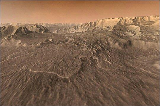 """C'est la Planète rouge, Mars, à cause de son sol comme """"rouillé"""". Grâce aux programmes de sondes exploratrices envoyées sur Mars, on sait que la Planète peut résoudre la grande question """"Sommes-nous seuls dans l'Univers"""", car elle fut... ?"""