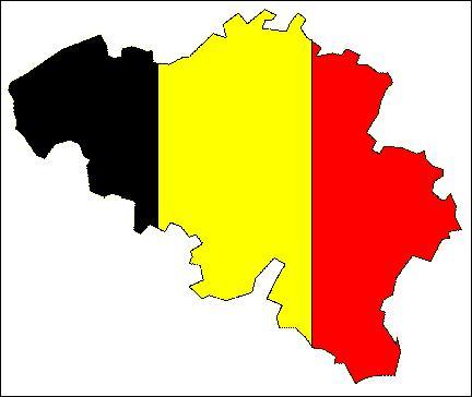 La Belgique se situe au nord de la France :