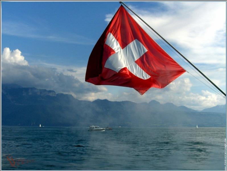 Quand on quitte la France, la première ville se trouvant en Suisse est Genève :