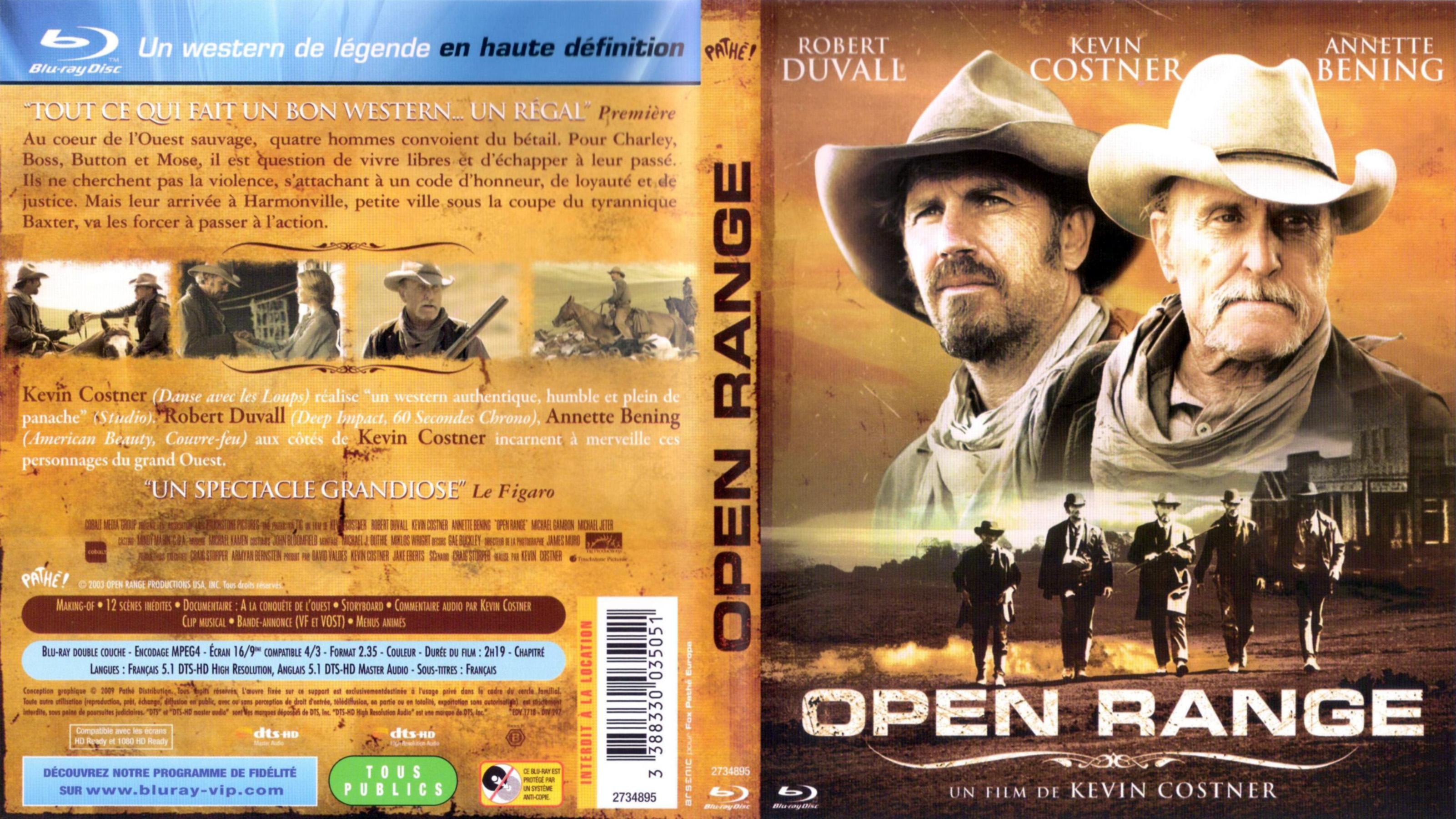 Le tournage homérique d'Open Range de Kevin Costner