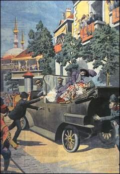 L'assassinat de François-Ferdinand le 28 juin 1914 est l'événement déclencheur de la guerre, dans les Balkans. Quel empire est alors concerné par ces conflits nationaux ?