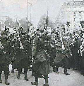 La première guerre mondiale : le déroulement