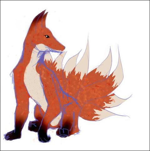 A quelle mythologie appartient le Kitsuné, ou renard à neuf queues ?