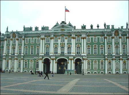 De quel bâtiment impérial faisait partie le  Musée de l'Ermitage  ?