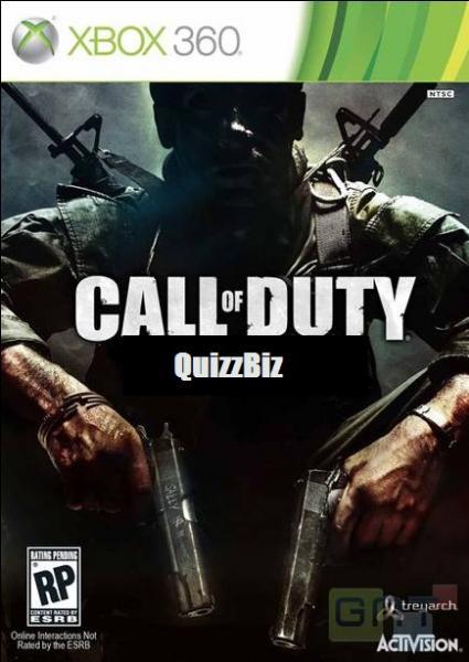 Tiens ! Encore un Call of Duty ! Et encore la même question, quel COD est-ce ?