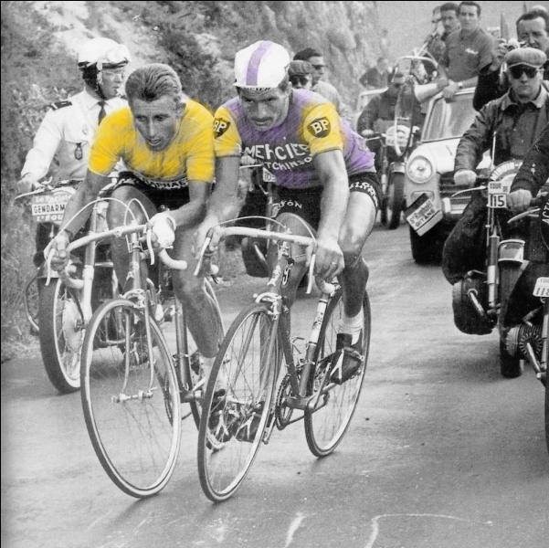 Tout le monde se souvient du célèbre  coude à coude  entre Jacques Anquetil et Raymond Poulidor dans le Puy-de-Dôme ! Oui mais, en quelle année ?