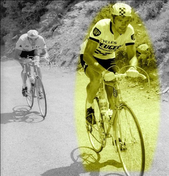Dans le tour de France 75, dans quelle montée alpestre notre  nanar  national Bernard Thévenet, terrasse-t-il Eddy Merckx ?