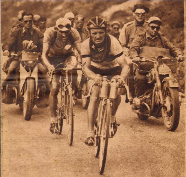Vainqueur de l'édition de 1947 lors de l'ultime étape, quel subterfuge utilisait Jean Robic pour descendre plus rapidement les cols ?
