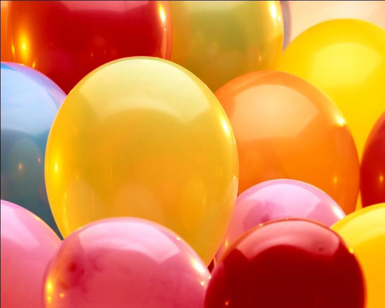 Ces ballons sont utilisés en période de ...