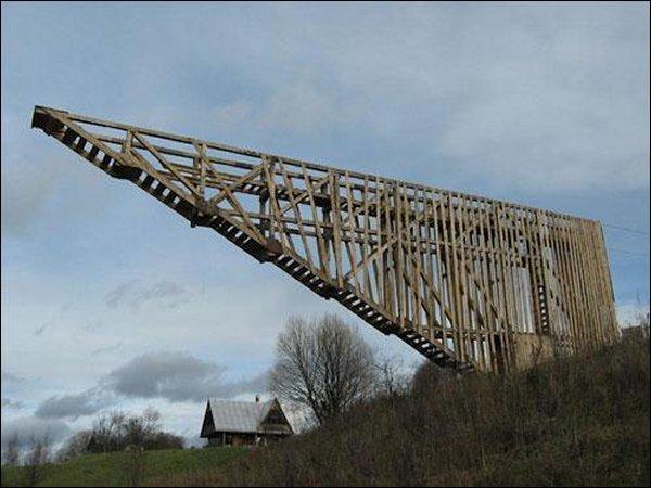 The Half-Bridge of Hope se trouve en Mongolie :
