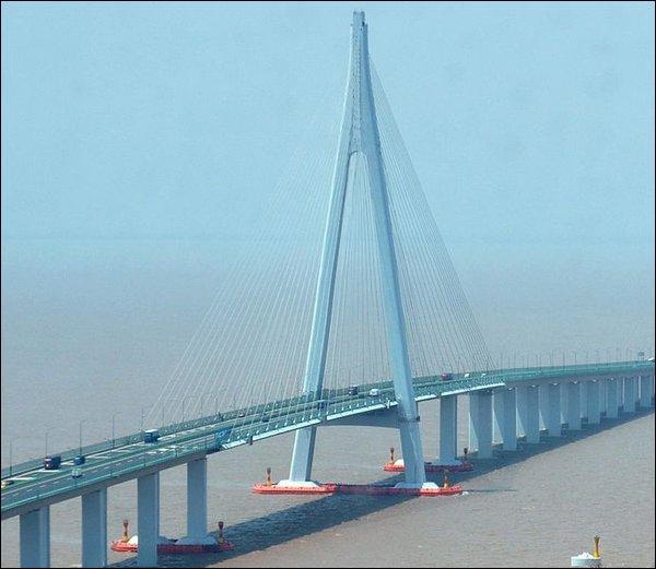 Quelle est la longueur du Hangzhou Bay Bridge ?
