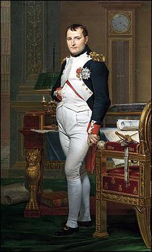 Quel grand chef des armées finit ses jours sur l'île Sainte-Hélène ?