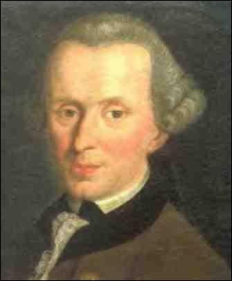 Qui est ce philosophe allemand, auteur de la fameuse  Critique de la raison pure  ?