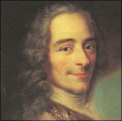 Qui est ce philosophe et écrivain, auteur des contes philosophiques  Candide  et  Micromégas  ?