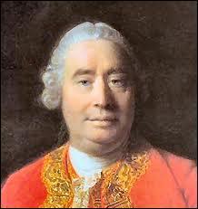 Qui est ce philosophe et économiste anglais (1711-1776) et auteur du  Traité de la nature humaine  ?
