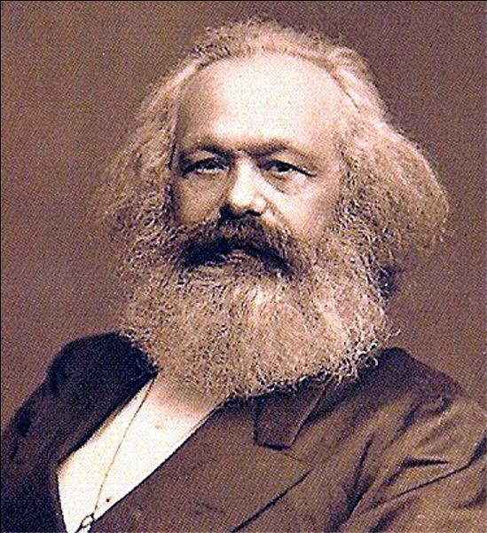 Comment s'appelle ce philosophe et économiste allemand, auteur du  Capital  ?