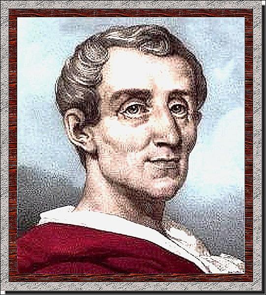 Ce philosophe est tout à fait représentatif de l'Esprit des Lumières, et a écrit  L'esprit des lois . Qui est-ce ?