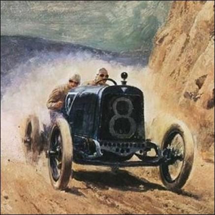 C'est la deuxième plus ancienne course automobile aux États-Unis, après les 500 miles d'Indianapolis. En quelle année eut lieu la première épreuve ?