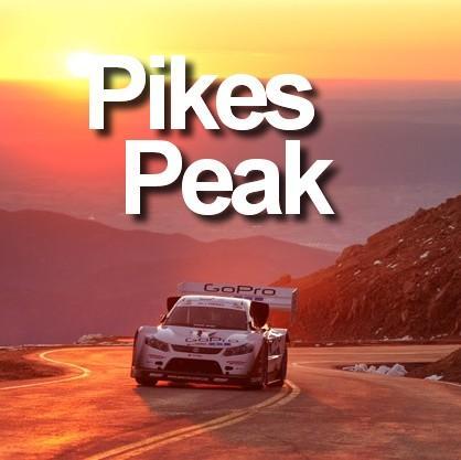 Pikes Peak : La course