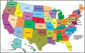 Combien y a-t-il d'États en Amérique du Nord ?