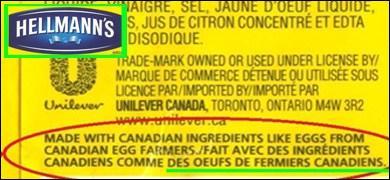 Si vous faites un tour au Canada, n'oubliez pas de goûter à nos succulents...