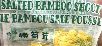 Maintenant, si vous passez par la Chine, vous devez absolument faire un tour dans les champs de bambou, car...
