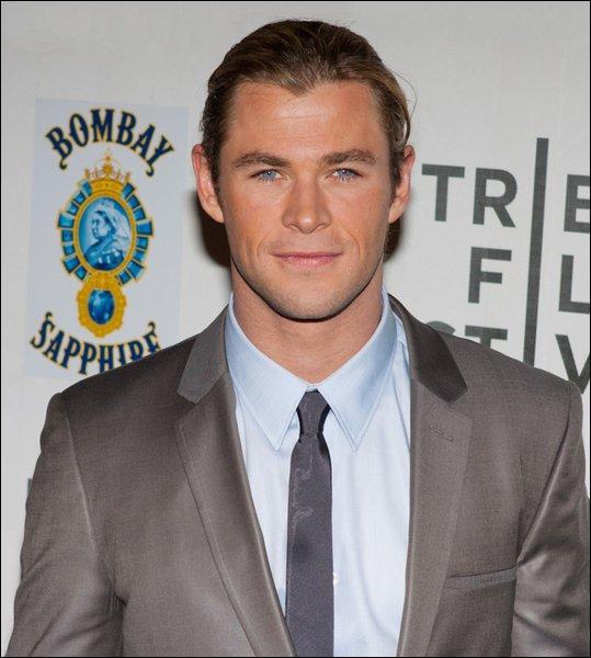 Chris Hemsworth a joué le personnage de Thor :