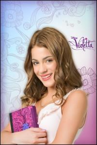 Sur quelle chaîne passe  Violetta  ? (petit piège)