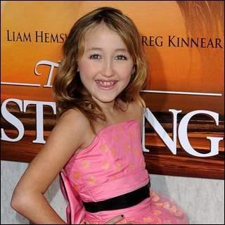 Miley a une petite sœur nommée Noah.